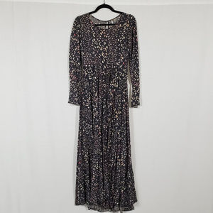 Free People Patterned Maxi Dress Size S